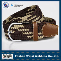 Multicolor Fashion Western Braided Belt For Women And Men OEM Accepted