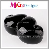 OEM Gift Mustache Gingerbread Ceramic Jewelry