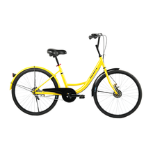 Tianjin factory 24 inch steel frame single speed cheapest ofo bike sharing
