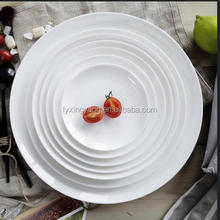 porcelain hotel plates all size,hotel porcelain dinner plates,white porcelain wholesale dinner plates
