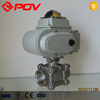 Good price of electric ball valve 24v 304