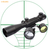 3-9X40EG tactical hunting Tri Rail red dot reticle riflescope