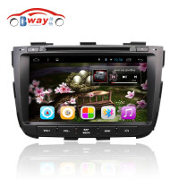Bway 2 din car radio for SORENTO 2013 Quadcore android 4.4 car dvd gps with 3G,wifi,1G RAM,16GB Nand