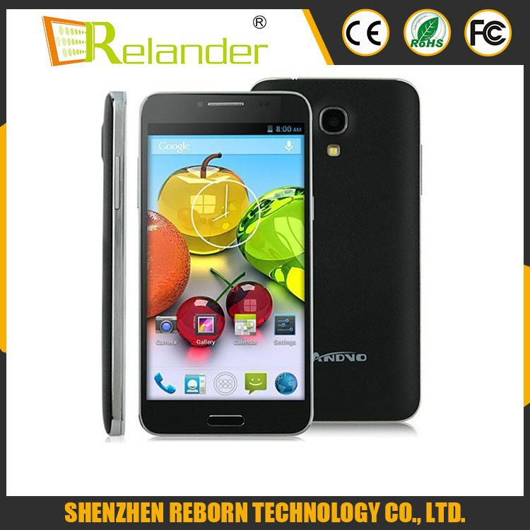 "LANDVO L800S MTK6582 Quad Core 1.2GHz Android 4.4 5.0"" 4GB ROM 5MP Dual Sim 3G WCDMA GPS Unlocked mobile phone Russian"