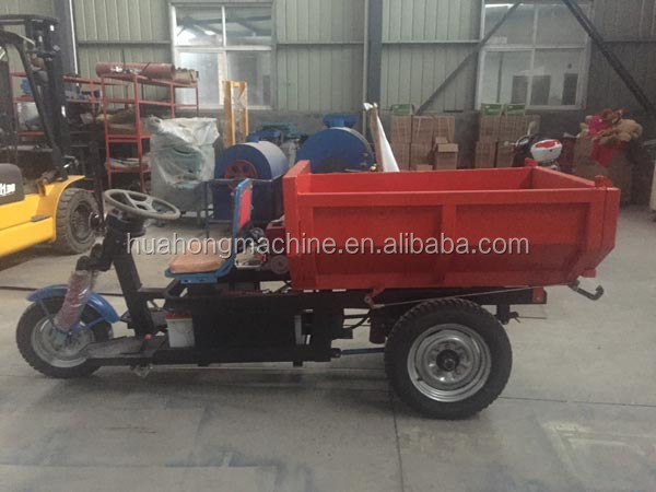 Open body cargo dumper/electric flat car/three wheeler tricycle from gold supplier