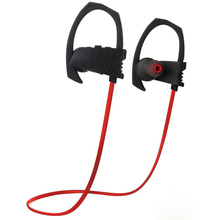 leather looking hifi setero earbuds high quality bluetooth wireless sport headphones with OEM factory