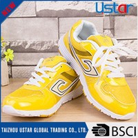 Fashion comfortable durable lady sports shoes for running