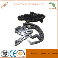 Bajaj 205-100L timing chain motorcycle timing chain with high temperature resistance
