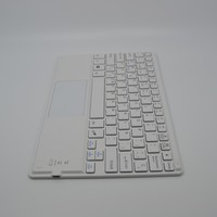Many languages customized ultra slim mini bluetooth keyboard case with touchpad
