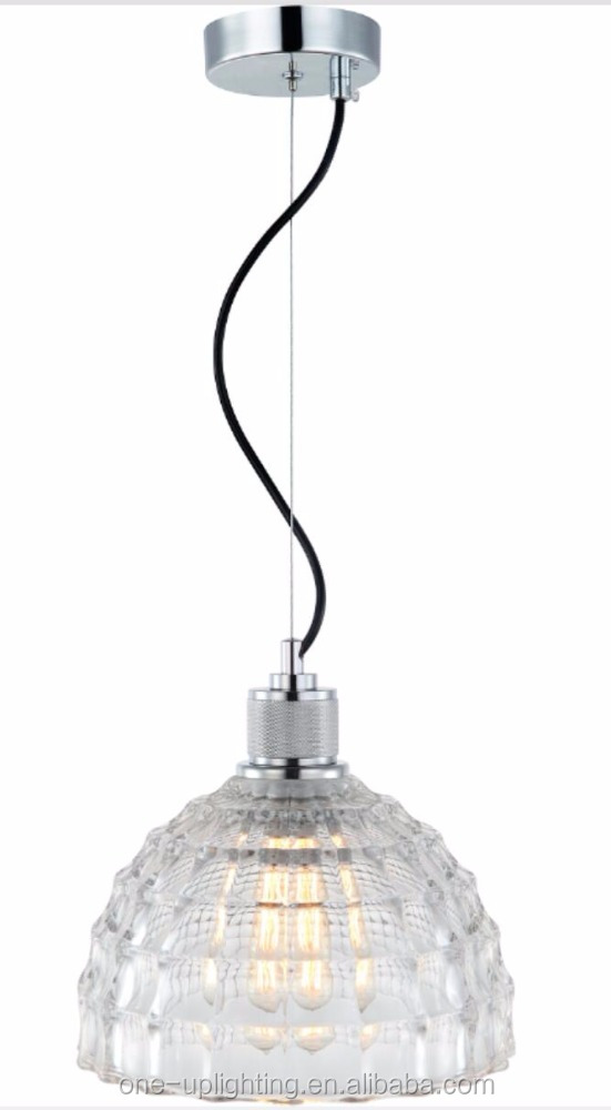 MD6242 new crystal glass modern pendant lamp