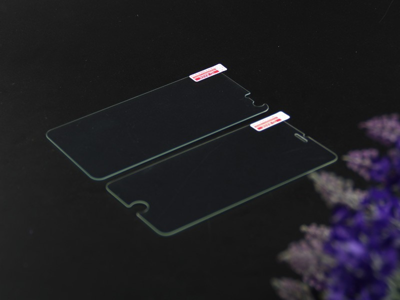 Factory supply 9H ultrathin 0.15mm cell phone tempered glass screen protector for Iphone 6 plus mobile phone