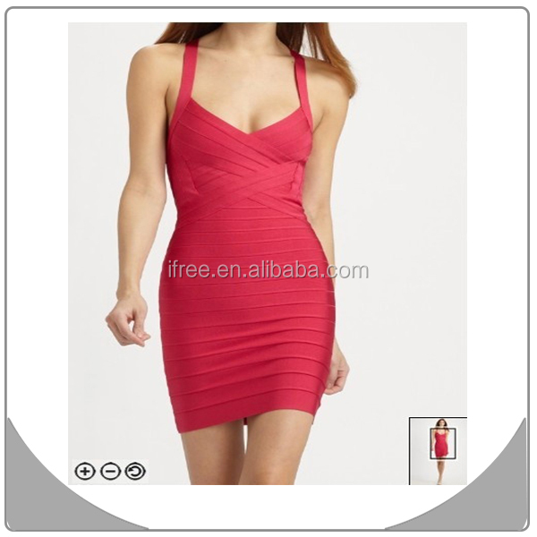red oriental wedding dresses spaghetti strap sexy bandage dresses 2015