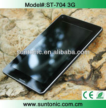 7 inch qualcomm 3G phone call tablet with full functions