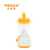Outdoor powered led bright solar led lantern with rechargeable battery