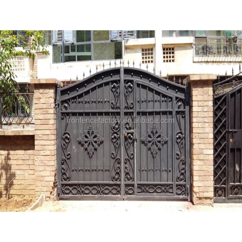 Как сделать входные ворота