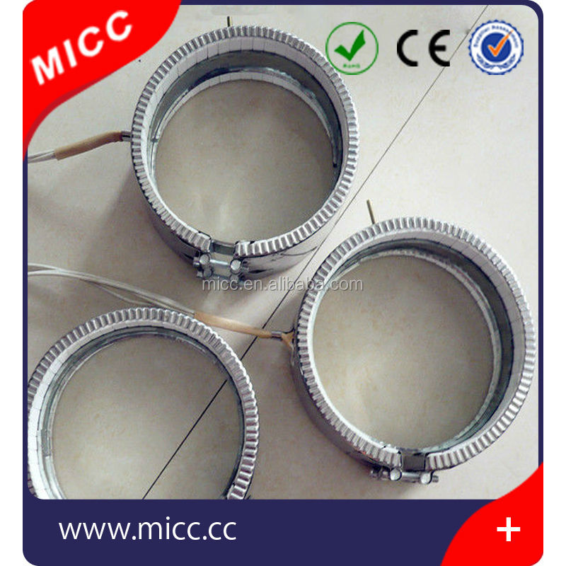 stainless steel nozzle band resistance mica heater