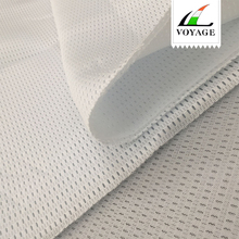 polyester air mesh fabric warp knit fabric