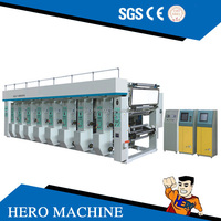 HERO BRAND High Speed 1-8 color Rotogravure Printing Machine