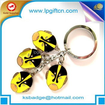 custom shaped metal keychain alloy zinc keyring cheap custom metal keychain for promotion gift