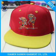 Hot Sale Fashion Simple Embroidery Wholesale Custom Printed Blank Flat Printed Plain Dyed Snapback Cap