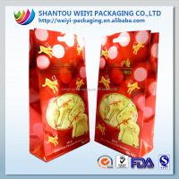 FDA Food grade high quality customized printing paper bag hs code