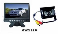 Best sony ccd car waterproof rear view camera system with 4 video channels