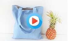 2016 Eco Reusable Shopping Bags Cloth Fabric Grocery Packing Recyclable Bag Hight Simple Design Healthy Tote Handbag Fashion