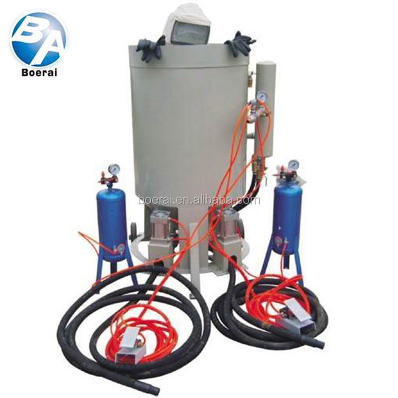 mobile sand blast equipment / manual cleaning machine