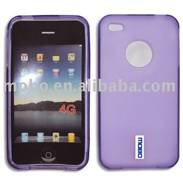 Case for iPhone 4 / 4S, Silicone case for iPhone 4 / 4S, Housing for iPhone 4 / 4S