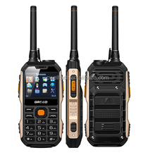 GRSED YAX8800 GSM Dual SIM UHF walkie talkie mobile phone 2.4 inch screen 8800mAh Big Battery Long Standby 3W Powerful Torch