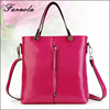 2017 Most Popular wholesale women's setchel hand bag 100% genuine leather handbag for ladies