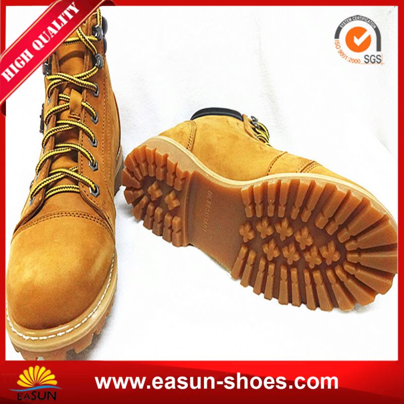 Safety Shoes Nubuck Leather Safety Boots Mens from China Supplier