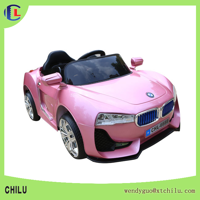 Low price children electric car with flashing lights(factory)
