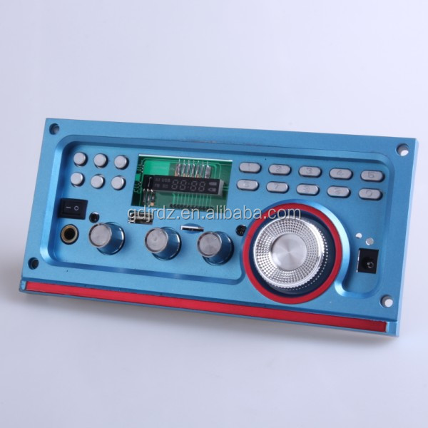 JRHT-305 Karaoke mixer audio amplifier module with USB TF FM