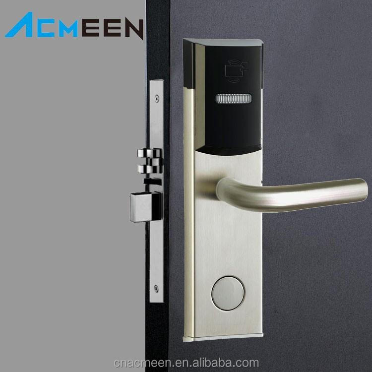 Security electronic hotel door lock rf id card