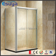 New Design dubai simple tempered glass complete shower room