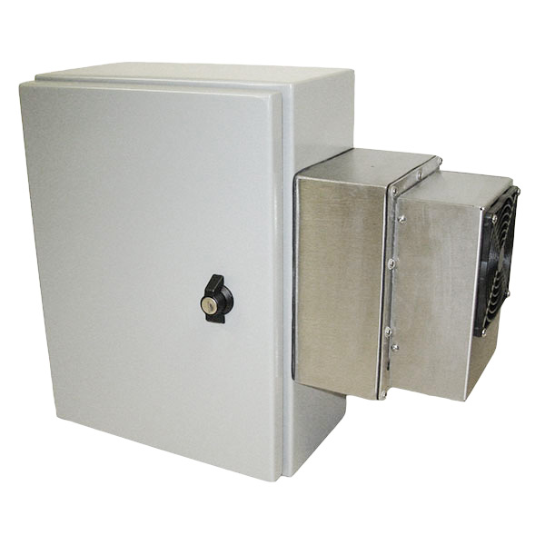 "Protector Series - 1G1612 Prepackaged Wall-mount Air Conditioned Enclosure - 16"" x 12"""