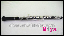 Children Full automatic Oboe with compositive wood body and silver plated
