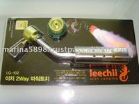 Blow gas torch with adaptor