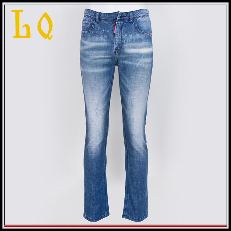 Wholesale 2017 Oem China Tag Pants Jeans Sample