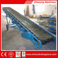 High quality durable portable belt conveyor system