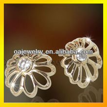 fashion jewelry earrings pearl elegant silver stud earring bridal jewelry