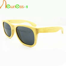 2014 New Style Fashion Bamboo Sunglasses With Wholesale Price