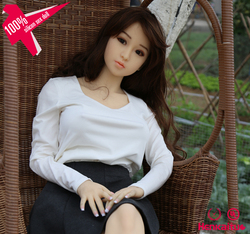 Doll Sex Silicone Medical Silicone 145cm Artificial Real Skin Feeling Sex Doll Vagina for Males