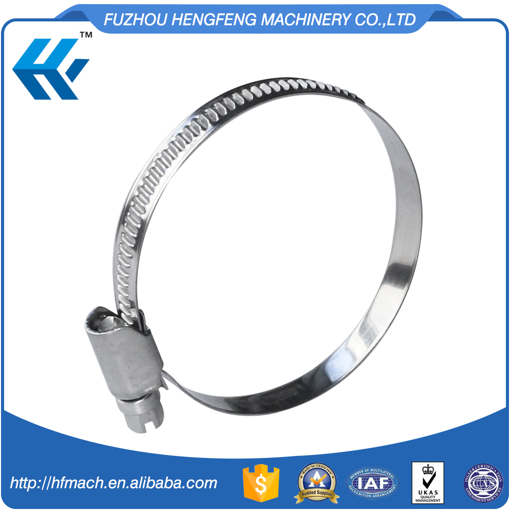 Large Stock Available Stainless Steel European Type Hose Clamp