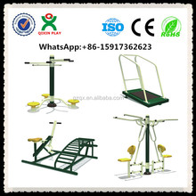 6 in 1 playground fitness equipment QX-092G/ outdoor fitness equipment factory/ outdoor gym equipment