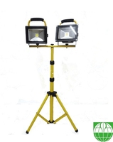 Good Quality Two Head 50W LED outdoor Flood light with tripot