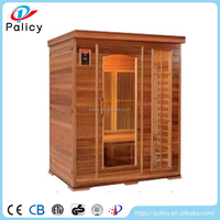Volume manufacture best quality 3 person portable infrared steam sauna room