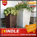 Kindle 2013 New polychrome flower plant pot stand wheels with 31 years experience