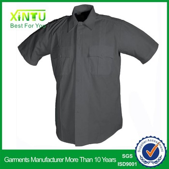 2017 Guangzhou new style security guard black security uniform for property real estate